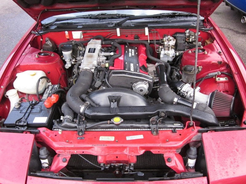 nissan silvia s13 motor