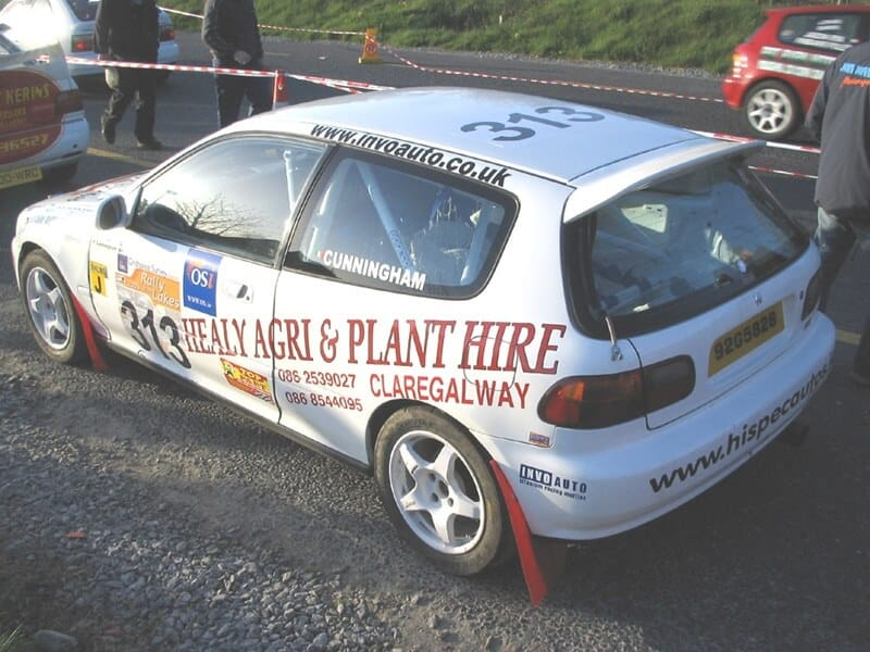 honda civic rally