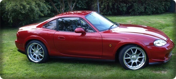 mazda mx5 coupe