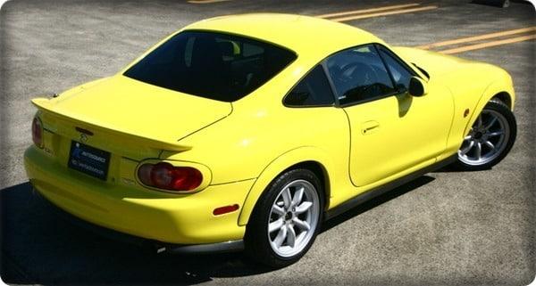 mazda mx5 coupe